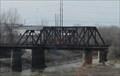 Image for KCS Air Line Truss Bridges over Little Blue River -- Independence MO