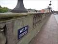 Image for Welsh Bridge Closed - Shrewsbury, Shropshire, UK.