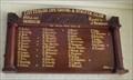 Image for Cottesloe Surf Club Honour Board - Cottesloe, Western Australia
