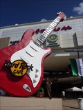 Image for 40ft guitar at Hard Rock Cafe Cancun, Mexico