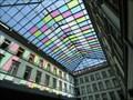 Image for Stained Glass Window Rathaus Galerien - Innsbruck, Tirol, Austria
