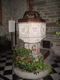 Image for Tavistock Church Font, West Devon UK.