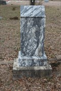 Image for FIRST Marked Burial in Fulton Cemetery - Walnut Springs, TX