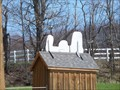 Image for Snoopy Asleep on his Doghouse - Route 31 - Jacks Reef, N.Y.