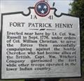 Image for [MISSING] Fort Patrick Henry - 1A 41 - Kingsport, TN