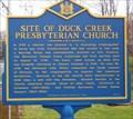 Image for Site of Duck Creek Presbyterian Church (KC-81) - Smyrna DE