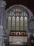 Image for STAINED GLASS WINDOW, ST WERBURGHS CHURCH, WEMBURY