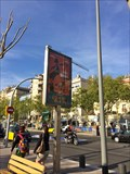 Image for CEMUSA Time & Temperature Sign - Barcelona, Spain