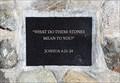 Image for Joshua 4:21-24 - Holy Bible (NIV Version) - Scott Valley Berean Church - Etna, CA