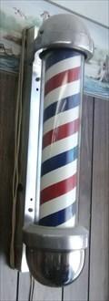 Image for Windsor Hills Barber Shop pole - Oklahoma City, Oklahoma USA