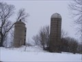 """Image for County Road """"EE"""" Duel Silos - Center, WI"""