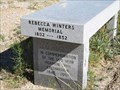 Image for Rebecca Winters Memorial - Scotts Bluff National Monument - Gering, NE