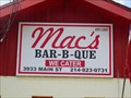Image for Mac's Bar-B-Que - Dallas, TX
