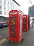 Image for Red telephone box - Royal Leamington Spa, Warwickshire, CV32 5PP