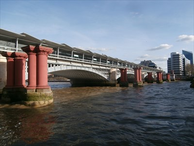 Blackfriars Railway Bridge - London