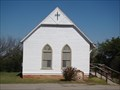 Image for Oldest Wooden Church in Perry, OK