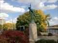 Image for The Skirmisher, (sculpture). - Binghamton, New York