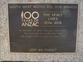 Image for 100 years of ANZAC - South West Rocks, NSW, Australia