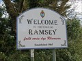 Image for Welcome Sign A13 Jurby Road - Ramsey, Isle of Man