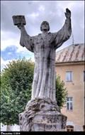 Image for Jan Hus memorial / Pomník Jana Husa - Ledec nad Sázavou (Vysocina)