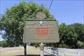 Image for Blue Star Marker -- US 190 East of San Saba TX