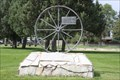 Image for Rutledge Wagon Wheel Monument -- Lingle WY