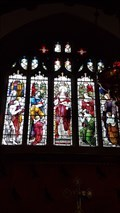 Image for Stained Glass Windows - St Newlyna - St Newlyn East, Cornwall