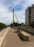 Image for Cable Stayed Pedestrians Bridge Liebrüti - Kaiseraugst, AG, Switzerland