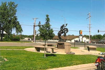 nd statue for the city on the south limits