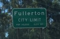 Image for Fullerton, California ~ Population 110,000