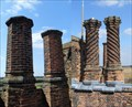 Image for Mix of chimneys, Layer Marney Tower, near Tiptree, Essex.