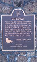 Image for Merganser Historical Plaque - Klamath Falls, OR