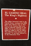 Image for OLDEST - Historical Road in the United States - Anthony, NM