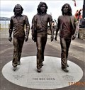 Image for The Bee Gees Bronze Statue - Loch Promenade - Douglas, Isle of Man