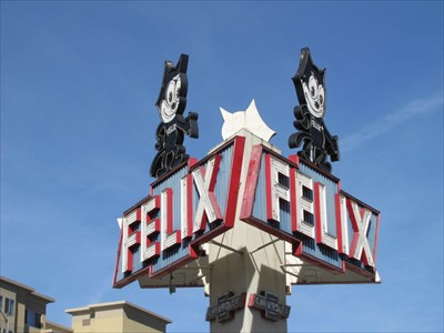 Felix Sign, Los Angeles, California