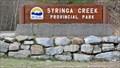 Image for Syringa Provincial Park - Castlegar, BC