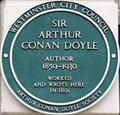 Image for Arthur Conan-Doyle - Upper Wimpole Street, London, UK