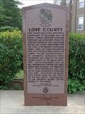 Image for Love County - Marietta, OK