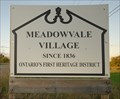 Image for Meadowvale, Ontario - Ontario's First Heritage District