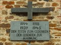 Image for Combined World War Memorial at Catholic Church St. Maria Magdalena, Niederadenau - RLP / Germany