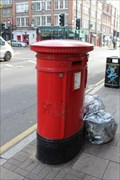 Image for Victorian Post Box - Goswell Road, London, UK
