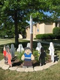 Image for St. Julian Eymard Parish Peace Pole - Elk Grove Village, IL