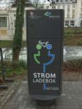 Image for Strom Ladebox an der Kurgartenbrücke in Bad Neuenahr-Ahrweiler- RLP / Germany