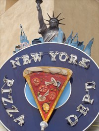 New York Pizza - Route 66, Albuquerque, NM.