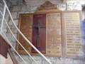 Image for Plaque Eglise Saint Georges de Didonne, Nouvelle Aquitaine, France