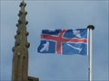 Image for Wroxton Flag - All Saints Church, Church Street, Wroxton, Oxfordshire, UK