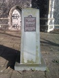 Image for Sir Thomas Slade obelisk, St Clement's church - Ipswich, Suffolk