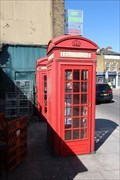 Image for Red Telephone Boxes - Homerton High Street, London, UK