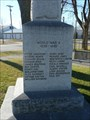 Image for Morris War Memorial  - Morris MB
