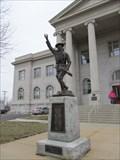 "Image for Mis-Identifed Viquesney ""Doughboy"" Leavenworth Co. Courthouse -- Leavenworth KS"